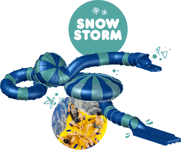 Alpamare Snow Storm