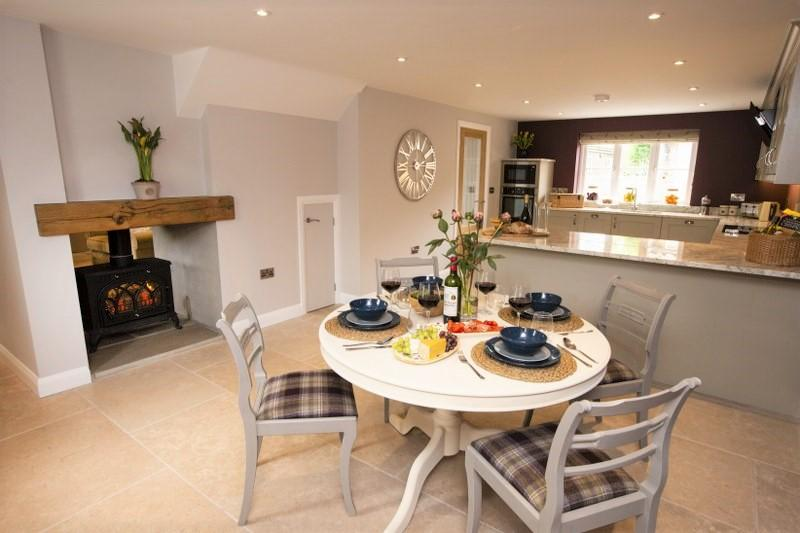 Holiday cottages with a wood-burner