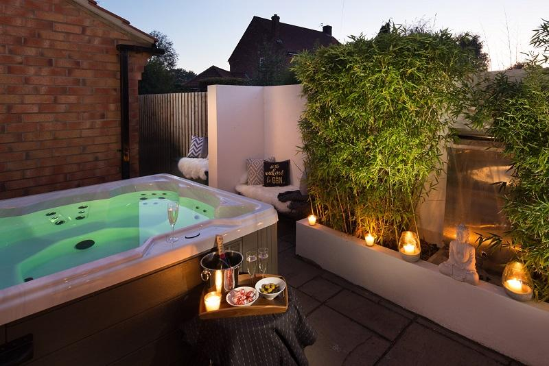 Letting your luxury Yorkshire holiday cottage - adding a hot tub