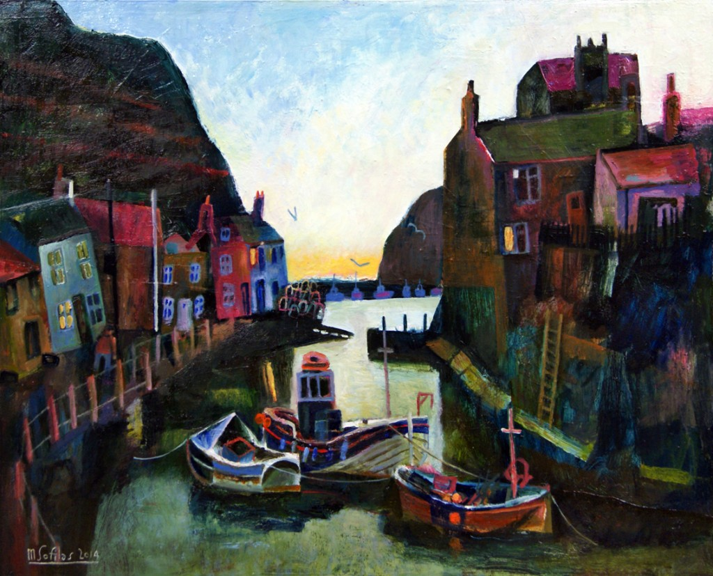 First Light Staithes - Mark Sofilas
