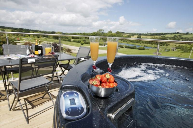 Make sure your hot tub is ready and waiting for guests