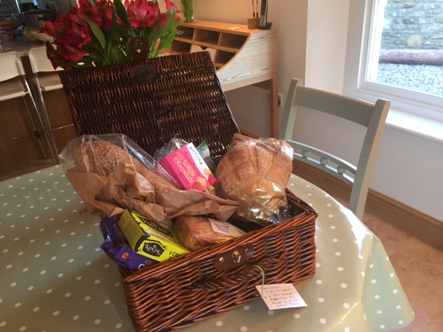 A welcome hamper
