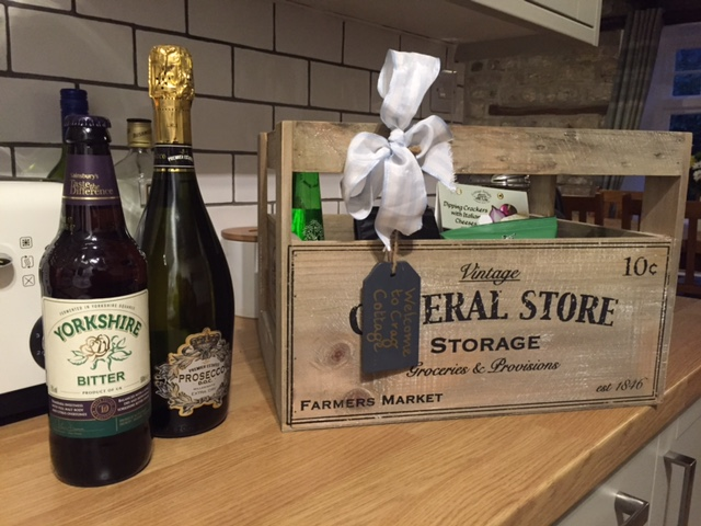 Be greeted by a lovely welcome hamper