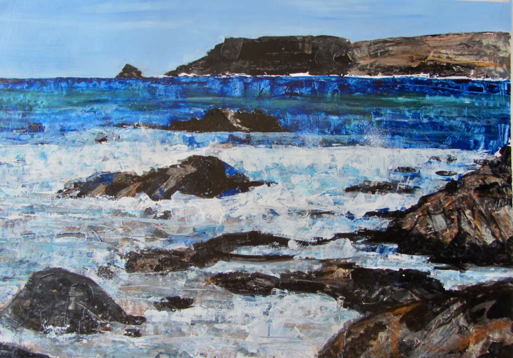 Yorkshire Artists - Colleen Vaux Seascape