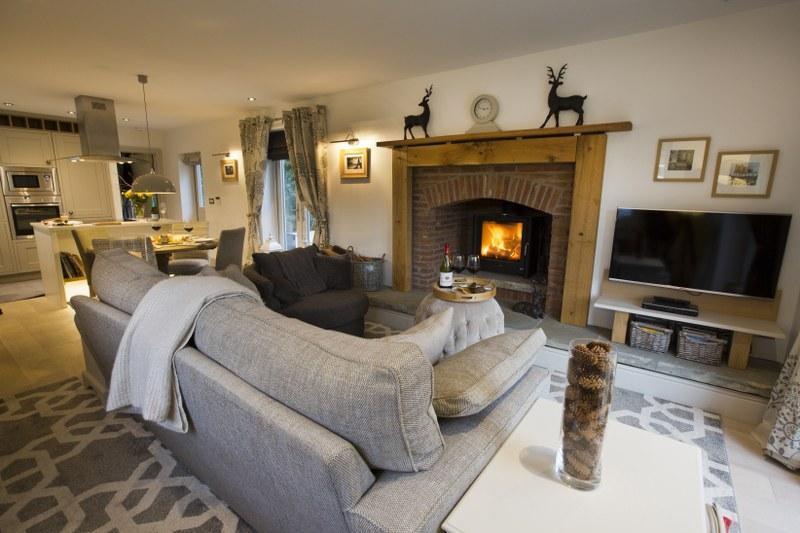 Cosy lounge setting