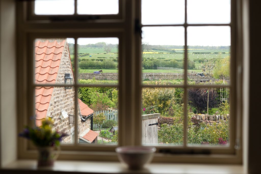 Lovely views of the Moors from the cottage