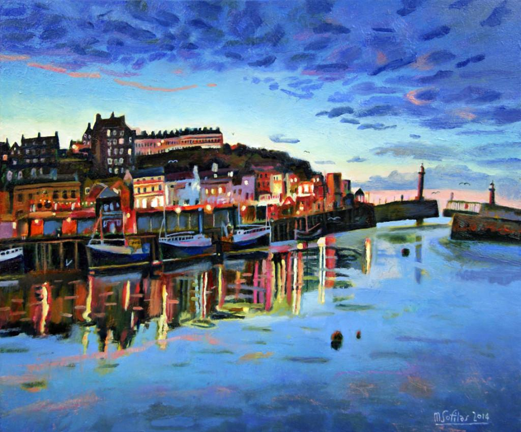 Last Light WHitby - Mark Sofilas