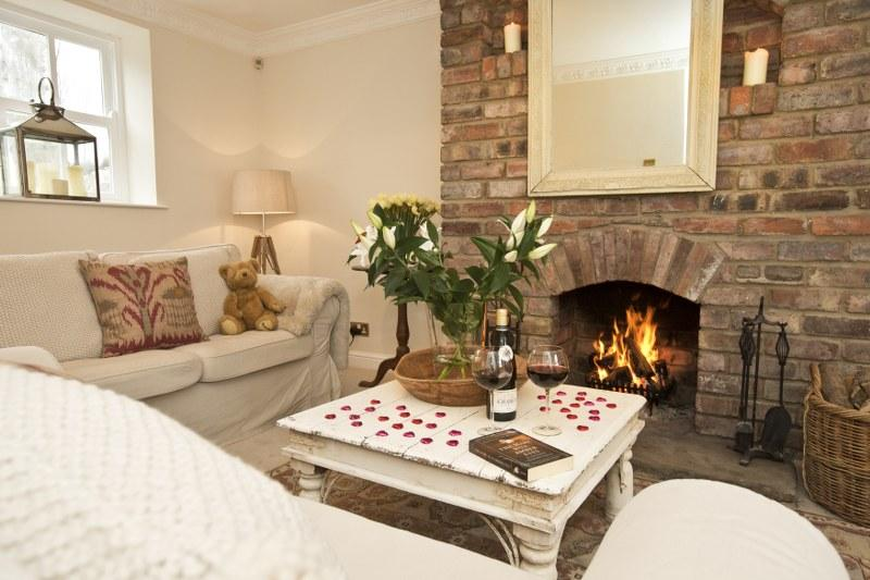 Holiday cottage with a wood-burner