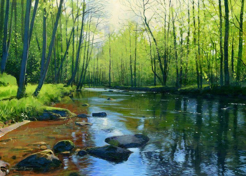 'River Esk, Egton' James McGairy