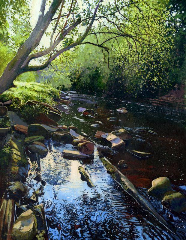 'River Swale, Keld' James McGairy