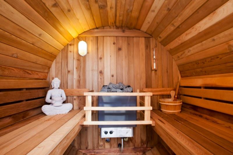 Push the boat out and get a holiday cottage with a sauna
