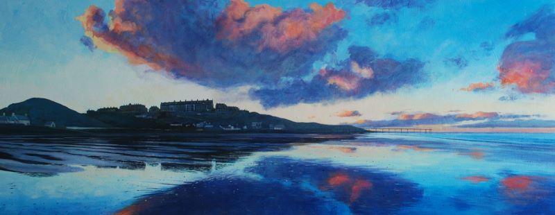 'Saltburn Winter  Evening'  James McGairy