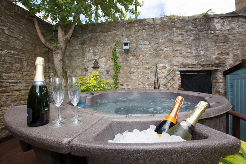 Adding a hot tub to your holiday cottage