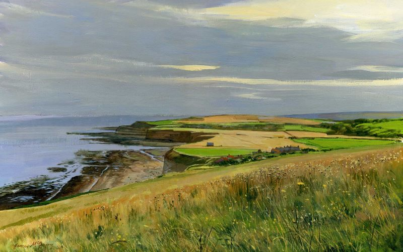 'Staithes from Boulby' James McGairy