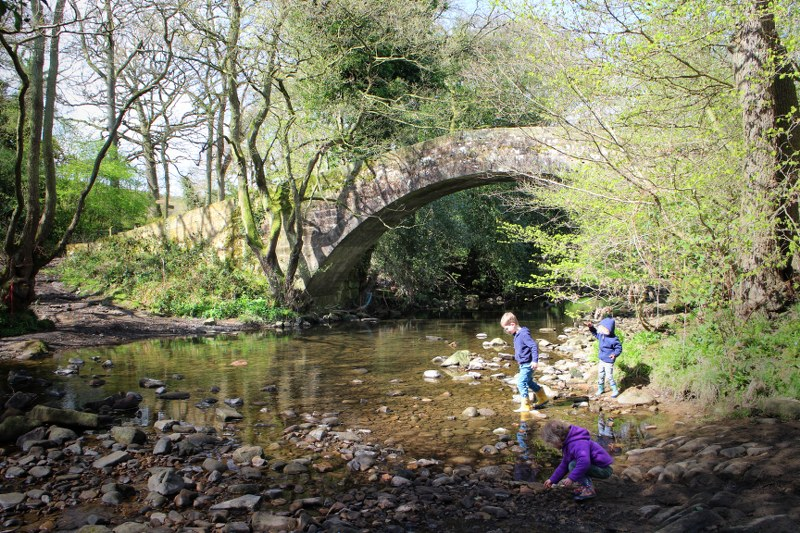 Kids and adults alike will love exploring in Nidderdale.