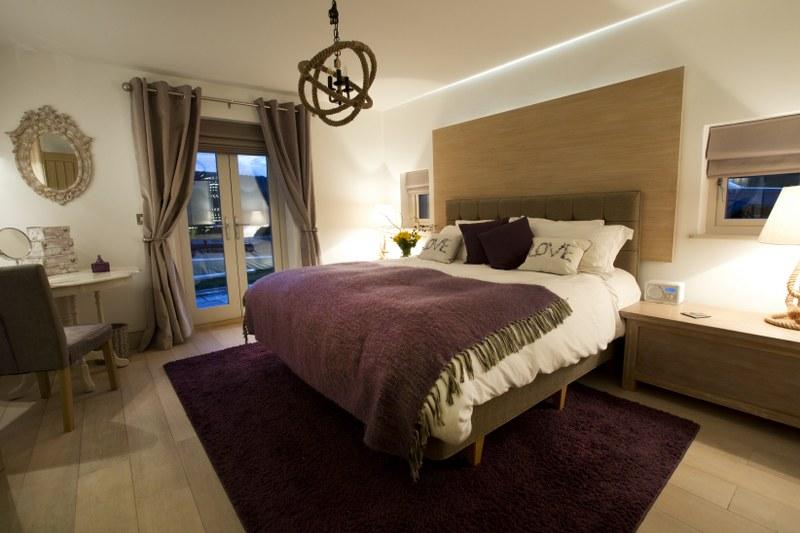 Wykewood master bedroom
