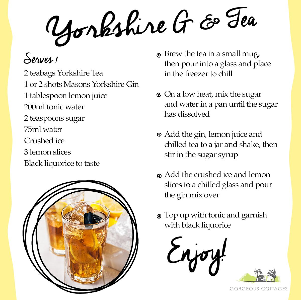 Yorkshire G and Tea