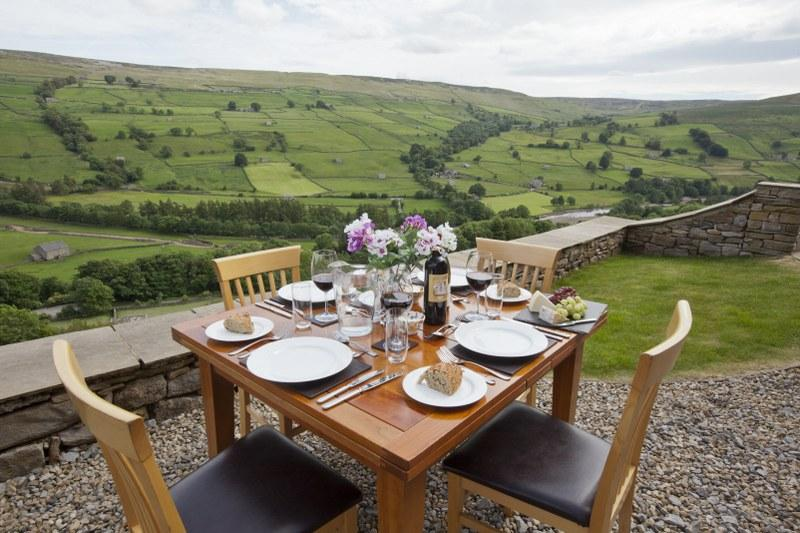 Enjoy the view from this Yorkshire Dales holiday cottage