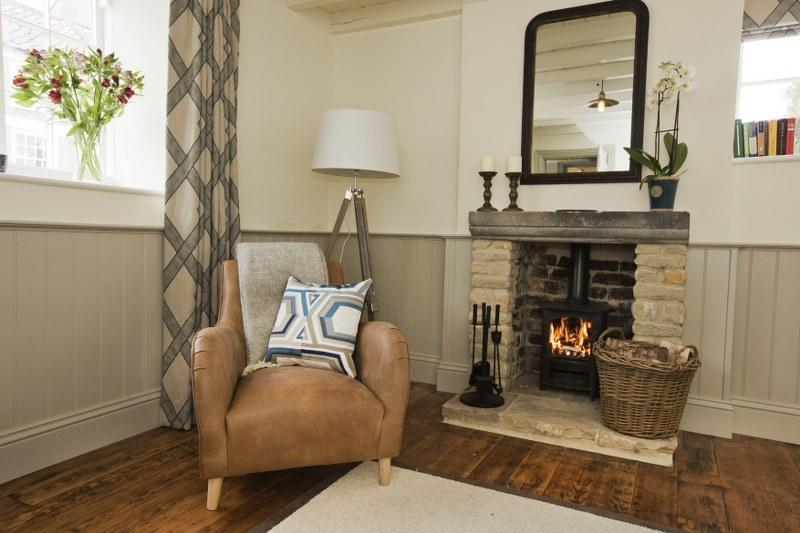 This cosy room has another wood-burner and is perfect for those late night catch-ups over a glass of red.