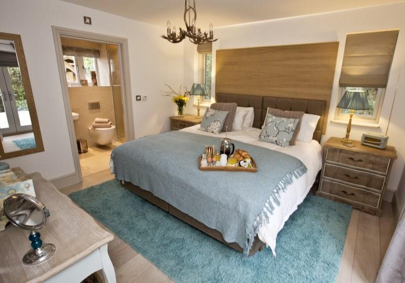 The first of two gorgeous bedrooms, both with super-kings size beds and en suite shower rooms.