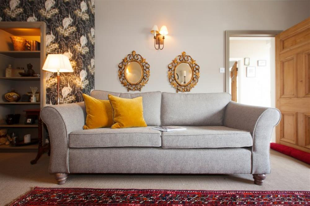 Take your pick from two comfy sofas.