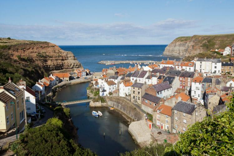 Staithes is the setting for Captain Jack's Boat