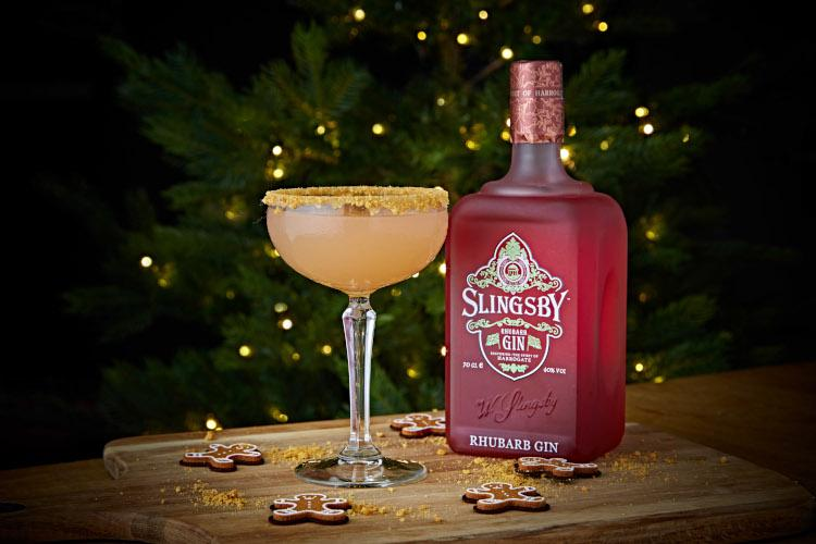 Christmas cocktail - Slingsby Gin