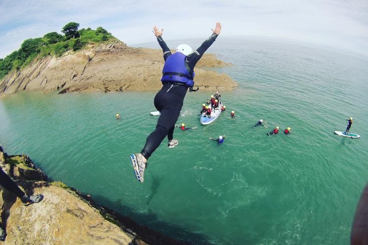 Coasteering - Watermouth Cove