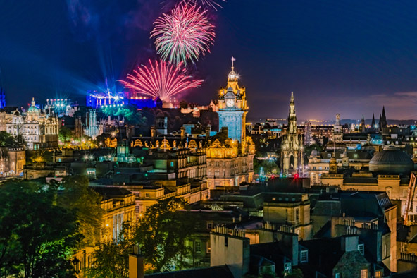 Where to go in the UK for NYE
