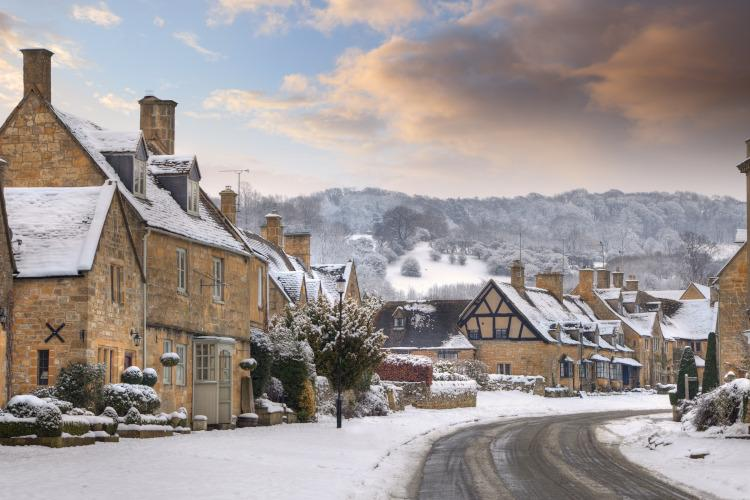 New Year in the Cotswolds