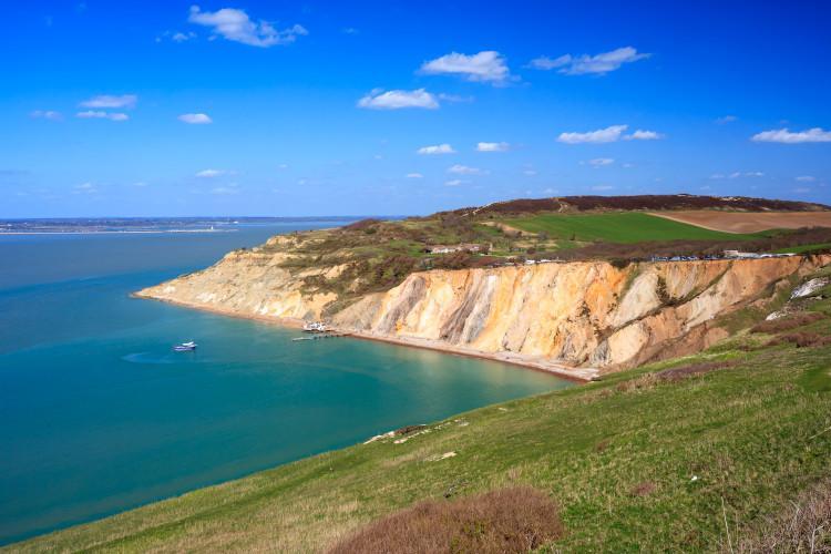 Alum Bay Beach Isle of Wight