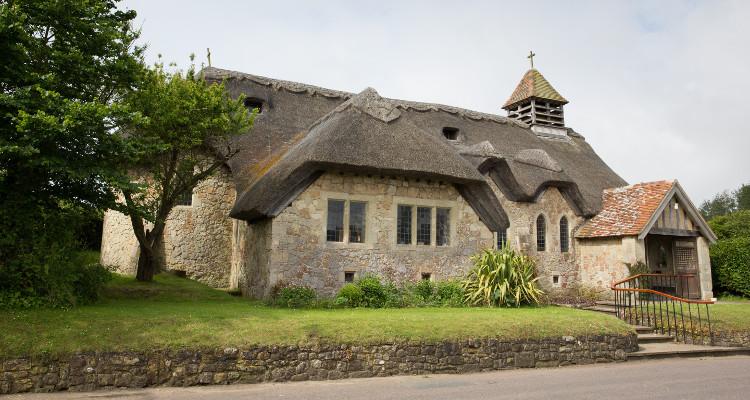 The pretty Church of St. Agnes