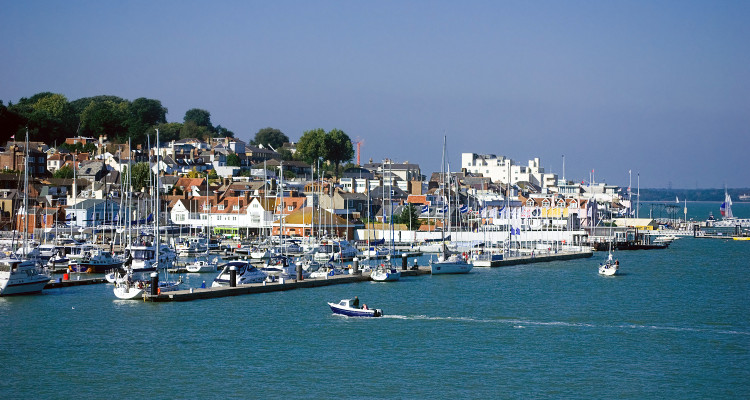 The Harbour at Cowes