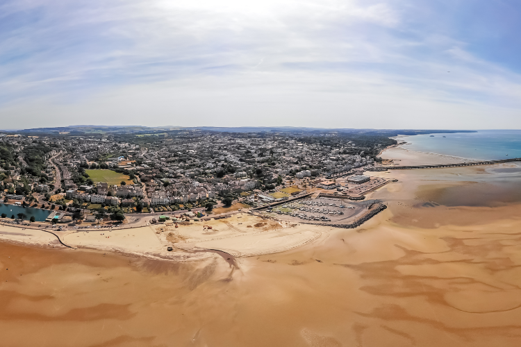 Ryde aerial view, Isle of Wight
