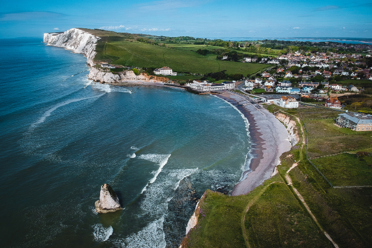 Freshwater Bay view, Isle of Wight