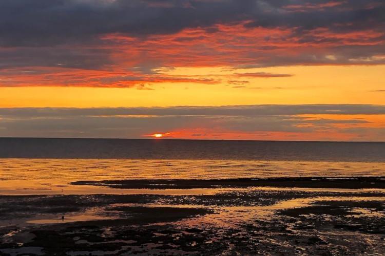 Heacham at sunset