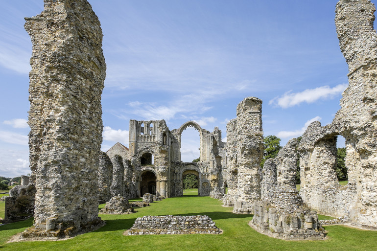 Castle Acre Priory in Norfolk