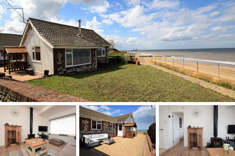 Flop Cottage in Bacton, Norfolk