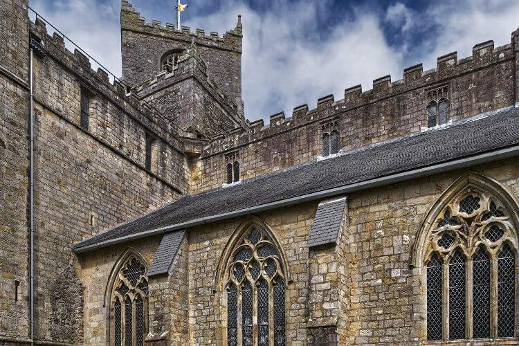 The beautiful architecture of Cartmel Priory