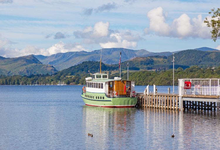 Ullswater boat