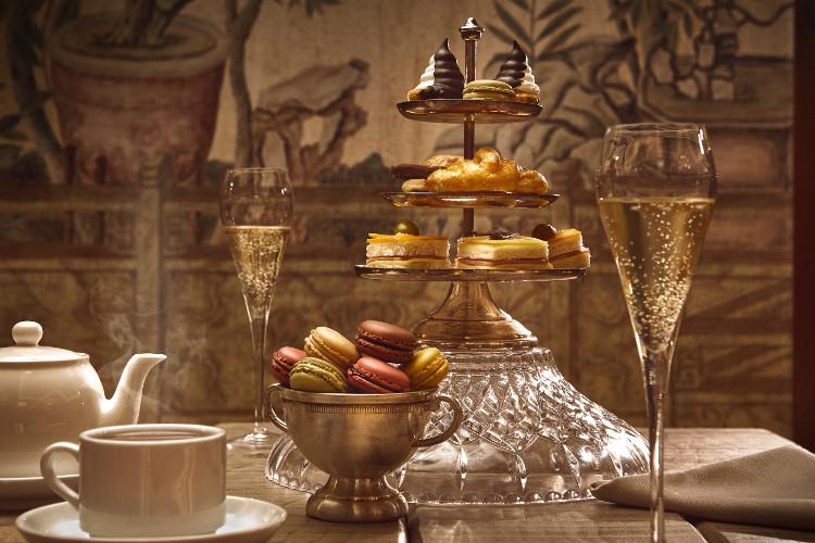 Elegant cream tea