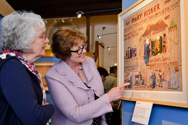 Quaker Tapestry Museum in Kendal