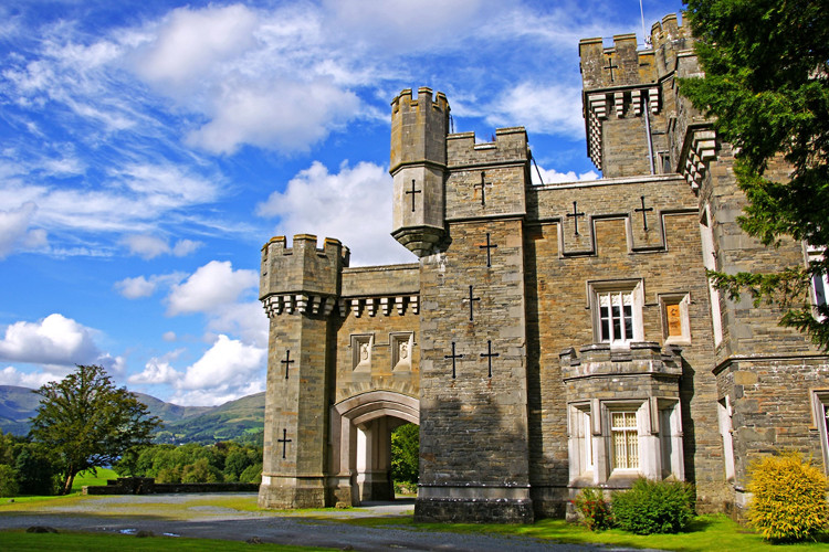 Wray Castle - Six of the best Lake District castles