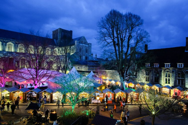 Winchester Cathedral Christmas Markets
