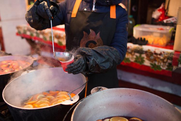 gluhwein market