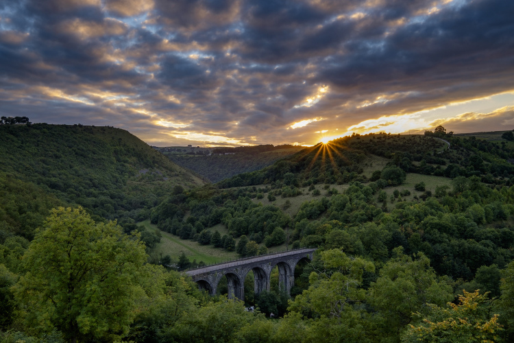 Monsal Head in Derbyshire and the Peak District