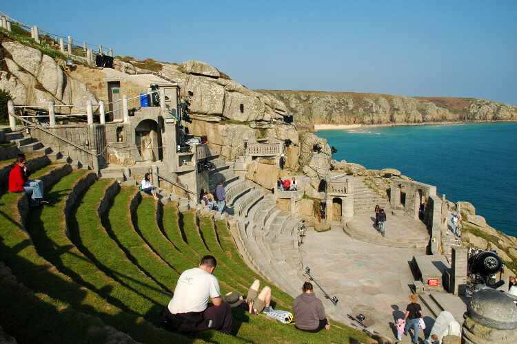Watch a play at the Minack Theatre