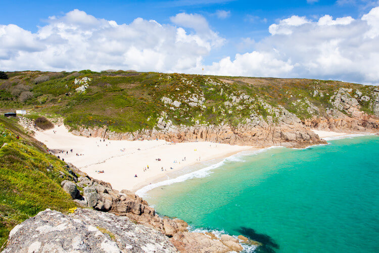 Visit beautiful Porthcurno