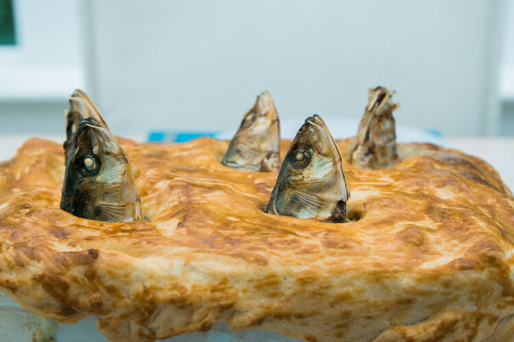 Why not taste stargazy pie?