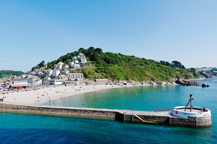 The town of Looe